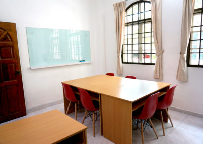 Tuition room